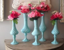 Vases, by MamaLisasCottage on etsy.com