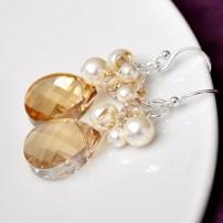 Earrings, by somethingjeweled on etsy.com