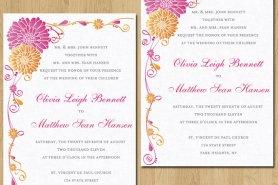 Invitation, by breavie on etsy.com
