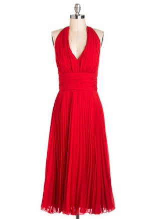 University of Marilyn dress, US$165.99 from modcloth.com