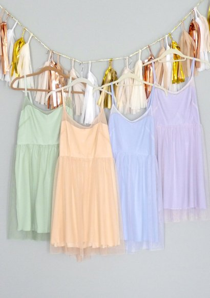Custom-made bridesmaid dresses, by dahlnyc on etsy.com