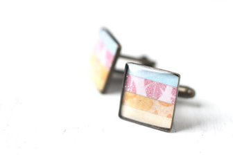 Men's cufflinks, by skyejuice on etsy.com