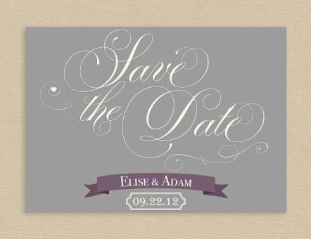 Printable save the date, by seedtosprout on etsy.com