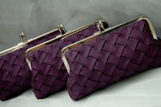 Silk clutch purses, by ItsSoClutch on etsy.com