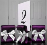 Table number holders, by ReservedSeating on etsy.com