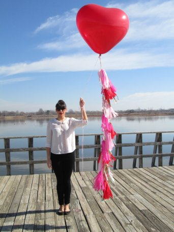 36-inch heart balloon, by StudioMucci on etsy.com