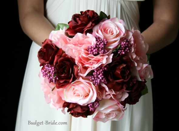 Burgundy and pink wedding inspiration  The Merry Bride