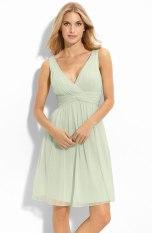 Donna Morgan 'Jessie' Twist Silk Chiffon Dress, from nordstrom.com