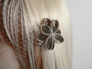 Hair clip, by MiaettiaCreations on etsy.com