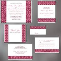 Invitation set, by ALookOfLove on etsy.com