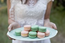 Macaroons are a good idea for dessert