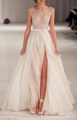 Organza wedding dress - US$288, by Lemandyweddingdress on etsy.com