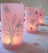 Table lanterns, by Koelnschaetze on etsy.com