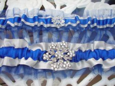 Garter set (one to keep, one to throw!), by DesignBySuzanne on etsy.com