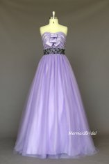 Lavender wedding dress, by MermaidBridal on etsy.com