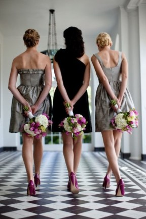 Lovely bridesmaids photo