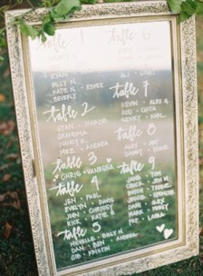 Mirror seating plan