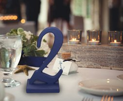 Table numbers, by ZCreateDesign on etsy.com