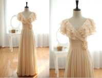 Wedding dress, by wonderxue on etsy.com