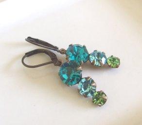 Earrings, by beadishdelight on etsy.com