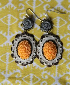 Earrings, by KeshetLavouxJewelry on etsy.com
