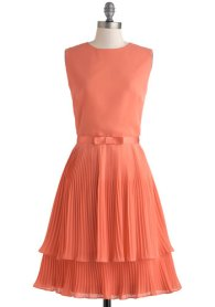 Grapefruit Sangria dress, from modcloth.com