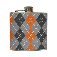 Hip flask - groomsman gift idea - by LiquidCourage on etsy.com