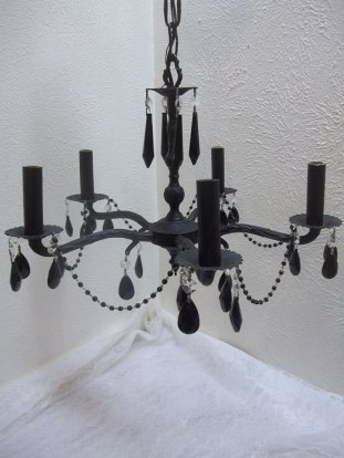 Chandelier, by donDiLights on etsy.com