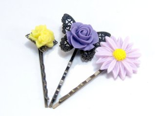 Hairpins, by MysticWynd on etsy.com