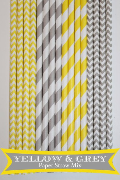 Paper straws, by PartyDelights on etsy.com