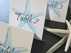Table numbers, by PaperNotions on etsy.com