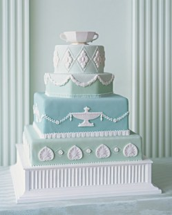Wedding cake {via marthastewartweddings.com}