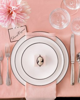 Table setting inspiration {via marthastewartweddings.com}
