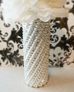Bouquet handle, by panachebride on etsy.com
