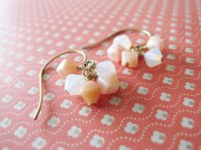 Czech Glass earrings, by aLittlePastBedtime on etsy.com
