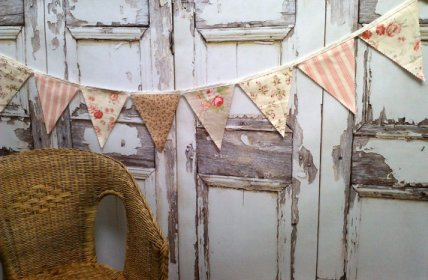 Bunting, by BooBahBlue on etsy.com