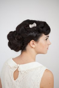 Bow hair accessory, by RoseRedRoseWhite on etsy.com