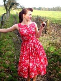 Bridesmaid dress, by butterfliesjuliebea on etsy.com