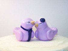Cake toppers, by CountrySquirrelsRUS on etsy.com