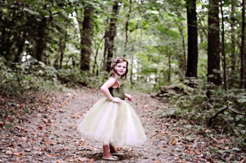 Flower girl dress, by BellaBeanCouture on etsy.com