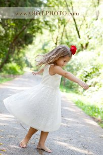 Flower girl dress, by LaParisLaur on etsy.com