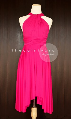 Bridesmaid dress, by thedaintyard on etsy.com