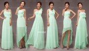mint bridesmaid dress in