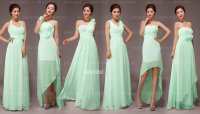 Mint bridesmaid dress in various styles, by okbridal on ...