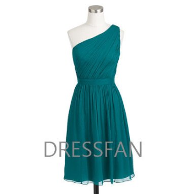 Jade bridesmaid dress, by Dressfan on etsy.com