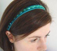 Jade headband, by lauratoal on etsy.com