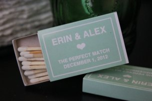 Personalised matchbox favours, by hopeandfancy on etsy.com