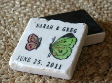 Save the date magnet, by MyLittleChick on etsy.com