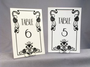 Table numbers, by WeddingMonograms on etsy.con