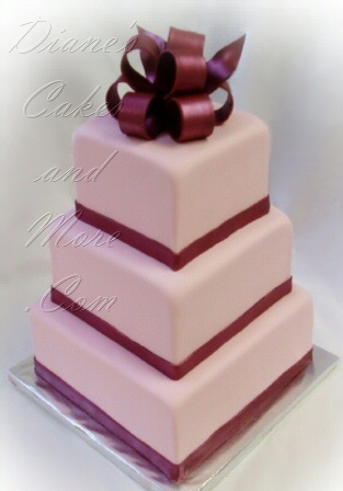 Burgundy And Light Pink Wedding The Merry Bride